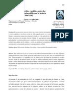 Debate Historiografico y Politico Sobre Los Origenes de La Violencia Politica en Chile