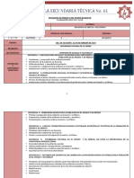 Planeación Geografía Bloque III