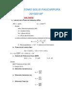 Calculos-resultados y conclusiones de TURBINA PELTON.docx