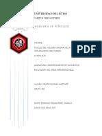 Informe Volumen de Yacimiento