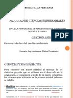 i. Generalidades de La Gestion Ambiental