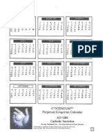 Gregorian Calendar for Continuum RPG