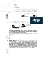 Td de Fisica - Prof. Rafael Coelho