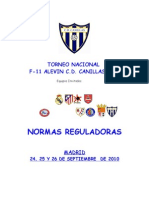 Torneo Nacional Alevin Dossier v. Final 2010