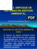 Semanas 3 y 4_Sistemas de GA_Situación y Modelo Ideal