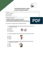 Evaluacion de Ciencias Naturales 1