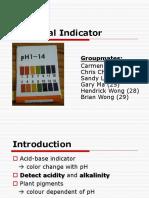Universal Indicator