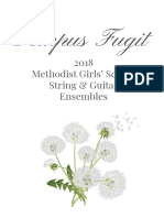 2018 Tempus Fugit Programme (QR Code Test)