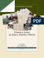 Guia de Orientação Para o Histórico Anual