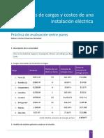Práctica Ánalisis y Costos de Una Instalación Eléctrica