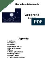 Geografía Lunar