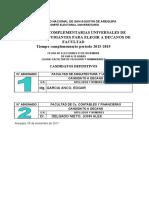 Elecciones Complementarias 2015 2019