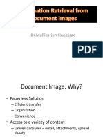 Information Retrieval From Document Images