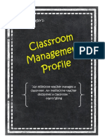 classroom management profile