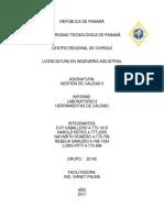 LABORATORIO 2 DE GESTIÓN DE CALIDAD II