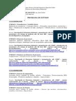 Programa Anual de Practica de Electrónica Industrial