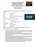 8. Surat Perjanjian Antara Pemilik Kendaraan