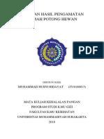 laporan observasi rph