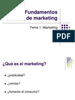 Tema 1 - Marketing