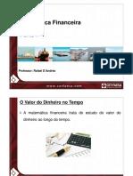 Matemática Financeira. Parte I. Professor_ Rafael D Andréa