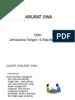 GAWAT DARURAT JIWA