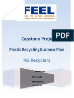 Plastic recycling  Capstone Project