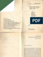 Introducción al Campo de la Psicología Social - Moscovici.pdf
