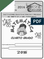 Matemática IV - 4ª Grado
