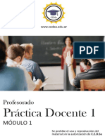 """Modulo I """"practica docente"""""""