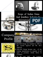 PPT Scope of Indian Gems and Jewellery Market in International