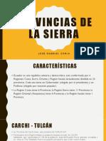 Provincias de la sierra.pptx