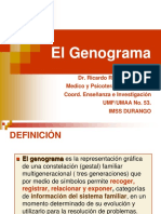 GENOGRAMA PRESENTACION