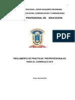 Reglamento Ppp Curriculo 2014 Nuevo Oficial Revisado Edith, Gla Domin