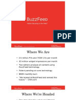 Buzzfeed Pitch Deck