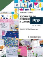 Cartilla Educar en Igualdad 2017