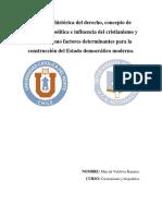 Ensayo Cristianismo y Biopolítica-Marcial Valdivia