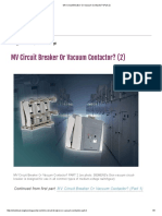 MV Circuit Breaker or Vacuum Contactor_ (Part 2)