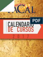 Cursos 2017 Pacal
