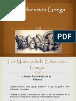 La Educación Griega