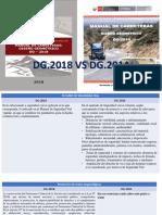 comparaciones NORMA DG 2014 VS NORMA DG 2018