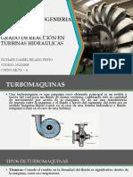 Grado de Reaccion en Turbinas Hidraulicas