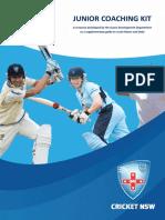 junior coaching kit cricket nsw