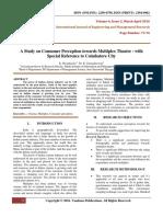 AStudyOnConsumerPerceptionTowardsMultiplexTheatreWithSpecialReferenceToCoimbatoreCity(73-76)