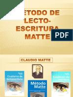Metodo Matte de Lecto Escritura(1)