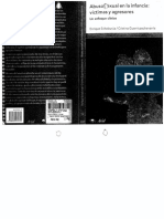 Libro Abuso Sexual en La Infancia. Victimas y Agresores