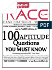100 Aptitude Questions u Must Know