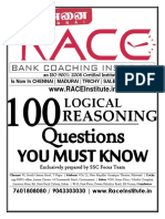100 Reasoning Questions u Must Know