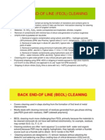 Study Guide for Cleaning
