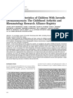Clinical Characteristics of Children With Juvenile