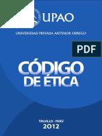 Código de ética UPAO